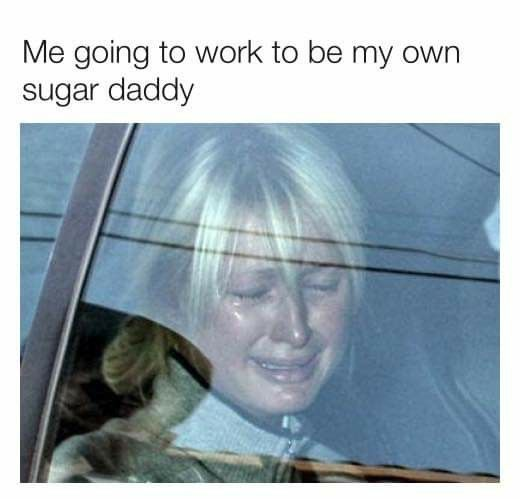 Pin By Rochelle Brockwell On Wtf Funny Daddy Meme I Go To Work Memes