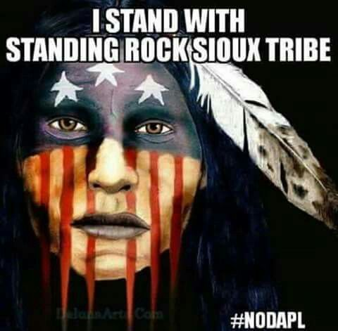 I Stand With Standing Rock No DAPL (Dakota Access Pipeline)