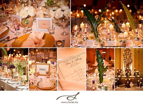 Akad Nikah & Green Reception: Nora & Along - Wedding, portrait photography & cinematic films: Stories.my