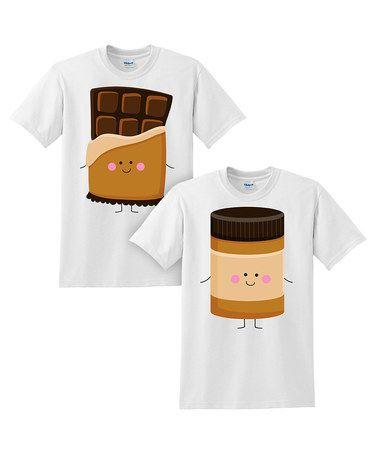 Another great find on #zulily! White Chocolate & Peanut Butter Jar Tee Set - Toddler & Kids #zulilyfinds