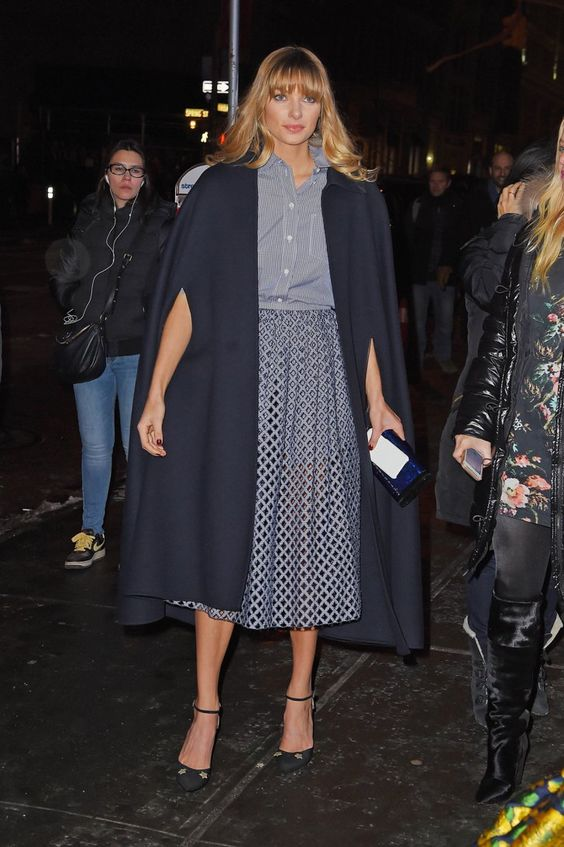 Pin for Later: The Top Models Buddied Up on the Last Day of MFW NYFW Day Seven Jessica Hart
