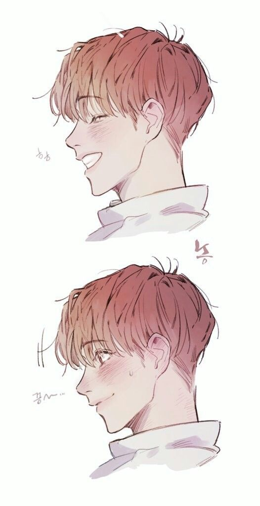 Profile Face Side Face In 2020 Concept Art Characters Anime Character Design Boy Drawing