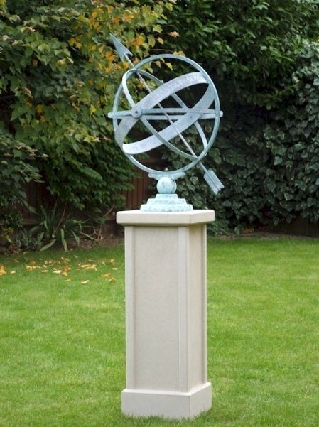 Armillary Sphere Arcturus New England garden Outdoor art