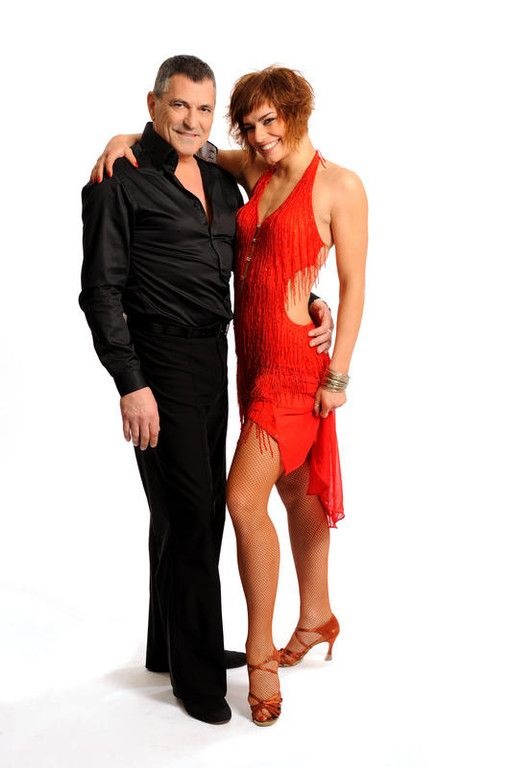 jean marie bigard et fauve danse avec les stars photos. Black Bedroom Furniture Sets. Home Design Ideas