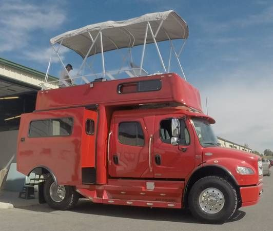 Custom Luxury RV on 2012 Freightliner SportChassis Barely used, owner is selling for personal reasons. Truck normally sells for $200,000 plus the Conversion $349,000 Asking $369,000 for the total...