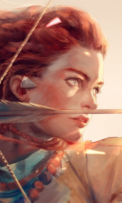 Horizon Zero Dawn Artwork Aloy Art Archer Horizon Zero Dawn Horizon Zero Dawn Aloy Art