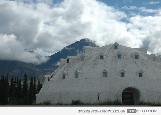 Modern Igloo in Alaska | Unusual House Designs - 4186