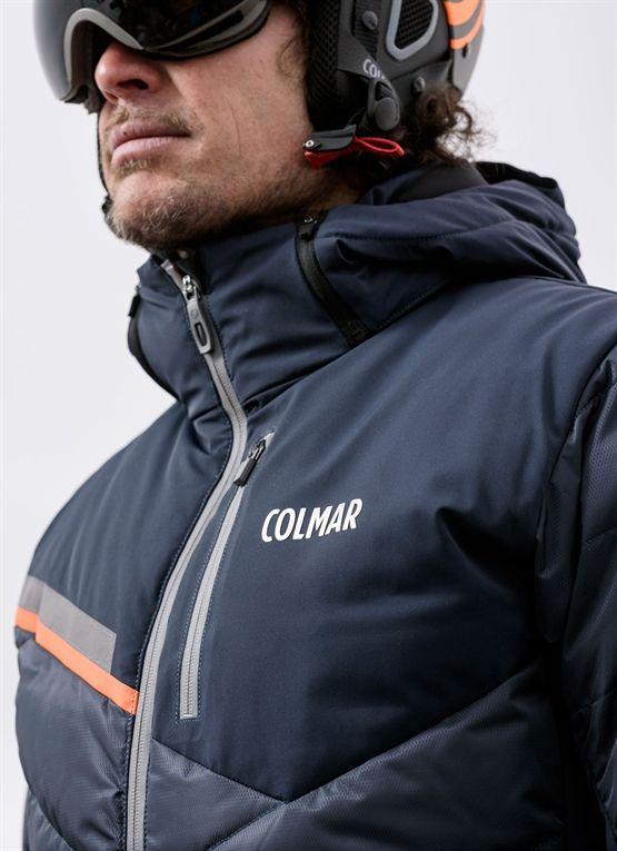 Waterproof men's ski jacket from Colmar Alpine with down