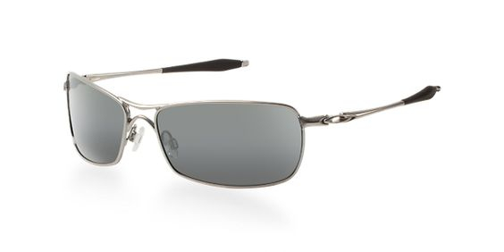 Oakley Crosshair - Rectangle Silver Frame Sunglasses