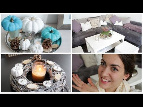 DIY - Herbstdeko 2015 - YouTube