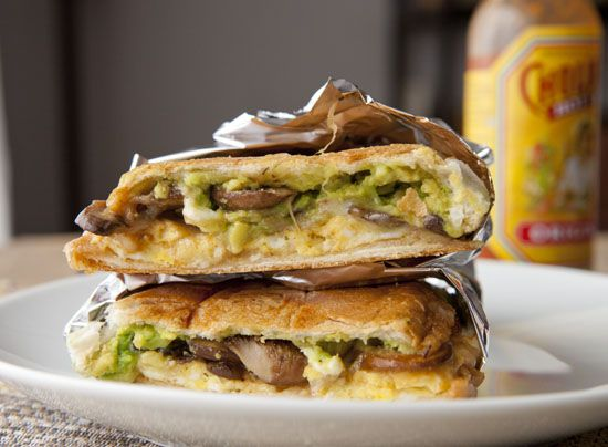 Mexican Mushroom And Spinach Sandwich (Vegan Torta) Recipe ...