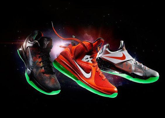 Nike LeBron 10 X Galaxy All Star Glow in the Dark