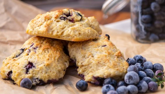 Blueberry scones, Scones and Blueberries on Pinterest