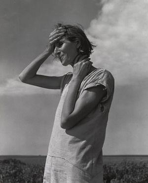 Femme dans les hautes plaines,1938