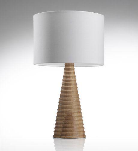 Conran turned pedestal table lamp marks spencer for Table lamp marks and spencer