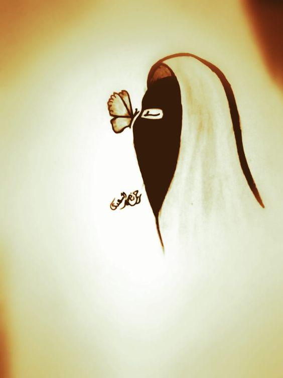 نقاب كرتون Niqab Cartoon Niqab Islamic Quotes