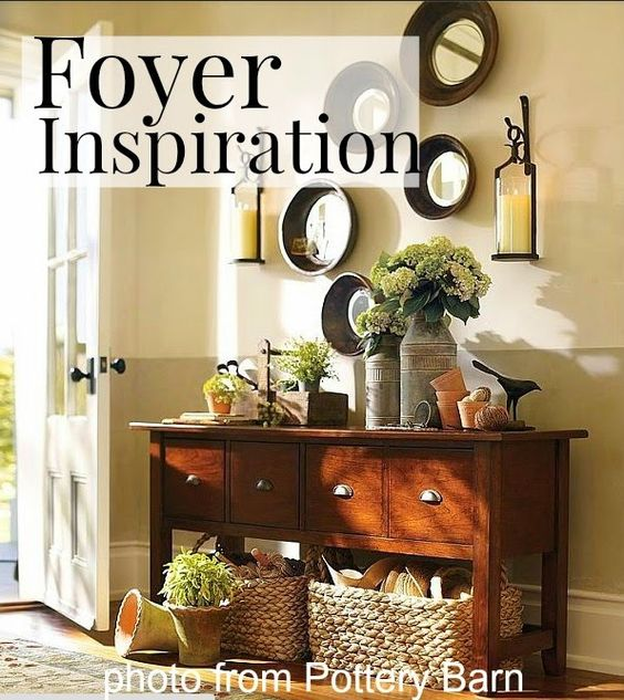 21 Rosemary Lane: Looking for Some Inspiration for Our Foyer