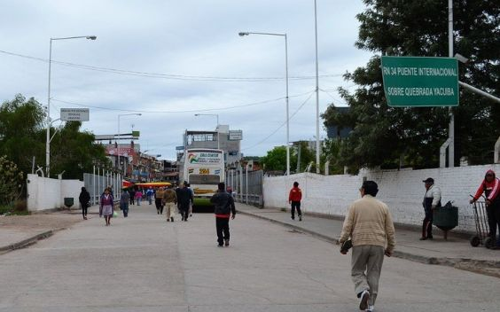 Yacuiba is a popular border-crossing town in southern Bolivia