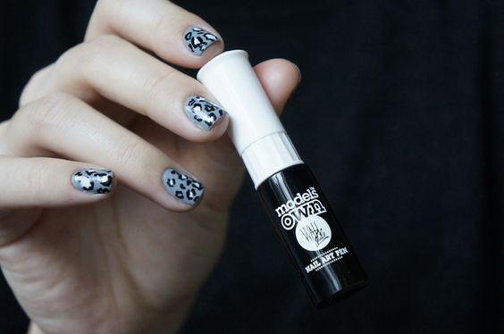 Livre Nail Art Venice - L'art du dessin sur ongles Sharmadean Reid - Manucure graou panthère snow léopard