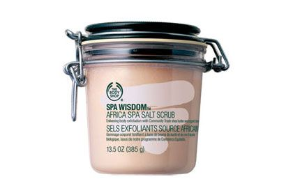 No. 1: The Body Shop Spa Wisdom Africa Spa Salt Scrub, $28 love this!