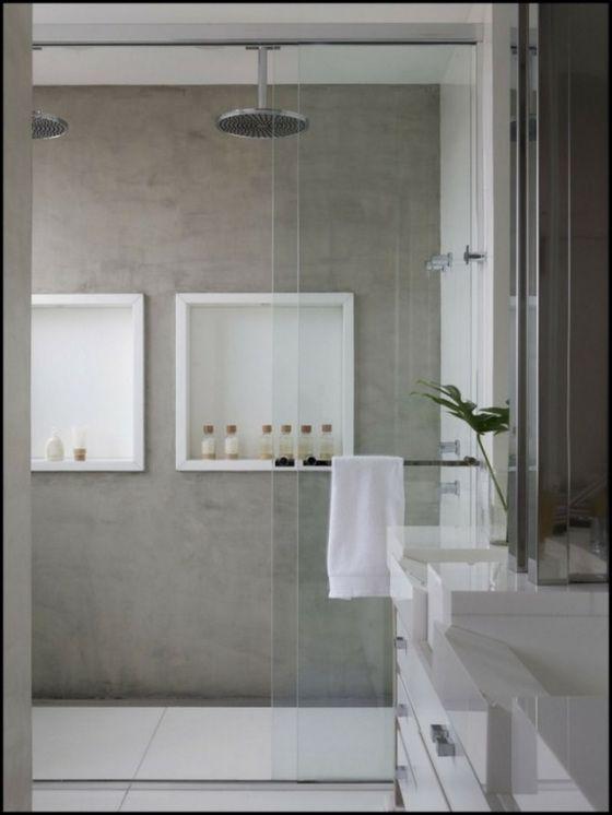 nicho para banheiro  Nossa Nova Casa  Pinterest  Chuveiros, Caixas e Decor -> Nichos Externos Banheiro