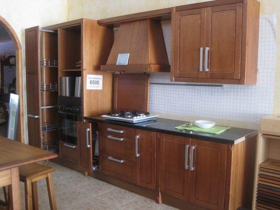 Cocina de exposici n puertas frentes y elementos for Componentes de una cocina integral
