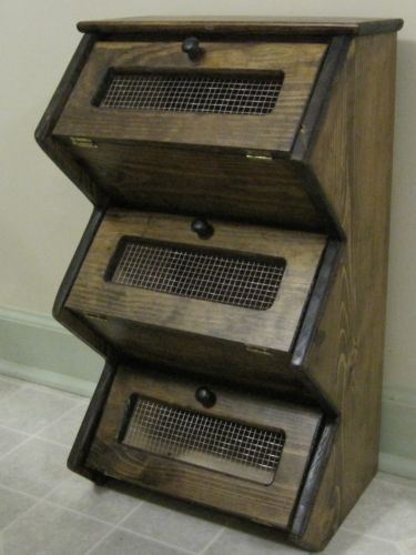 Storage Bins Vegetables And Stair Treads On Pinterest
