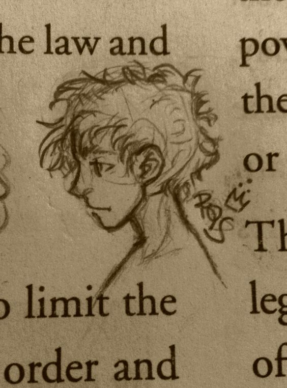 More doodles ... from my Civics textbook.. by @rohinicupcake