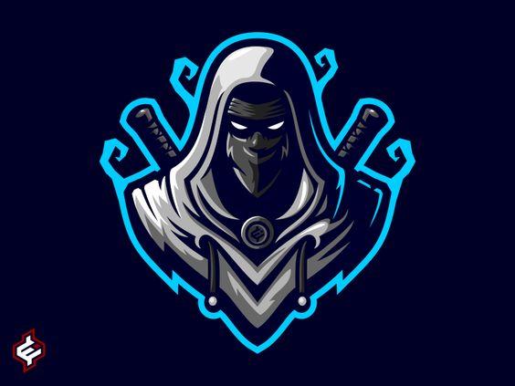 Royalty Free Assassin Ninja Mascot Logo Template Logo Illustration Design Game Logo Design Logo Design Art Full hd gamer logo wallpaper
