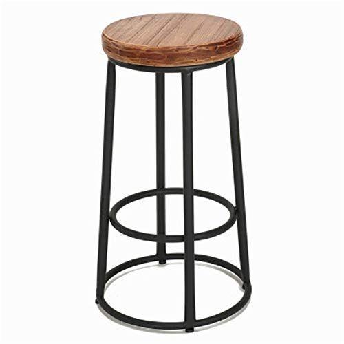 Bar Stool Counter Height Adjustable Bar Stool Footrest Round Cushion Seat Metal Kitchen Bar Chair For Breakfast Pu Metal Bar Stools Retro Bar Stools Bar Stools