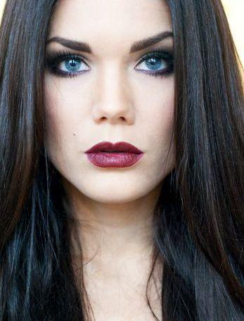 Dark Brown Hair Blue Eyes Makeup Google Search Marion Cotillards Makeup For Dark Hair Fair Skin Gorgeo Brown Hair Blue Eyes Black Hair Blue Eyes Hair Pale Skin