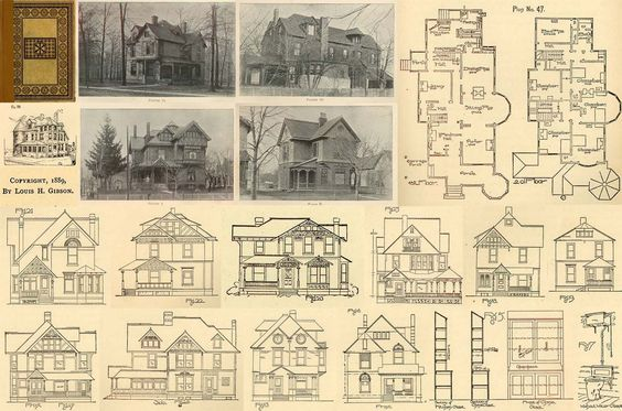 17 Best Images About Antique House Plans Furniture