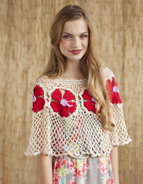 Hibiscus Wrap | crochet today