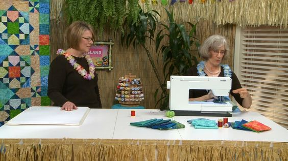 Surf & Sand Quilt Along: Lesson 7 of 9 - Video | QNN TV