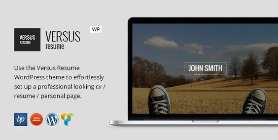 VERSUS Resume - Responsive CV WordPress Theme - cv versus resume