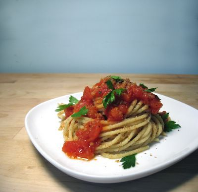 Ben's Tomato and Herb Spaghetti by sevenspoons. Recipe from The Best by Paul Merrett, Silvana Franco and Ben O'Donoghue. #Spaghetti