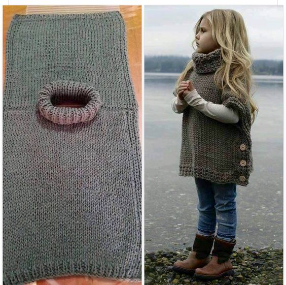 Winter Fashion Modern Country 2017: The Girl's Poncho