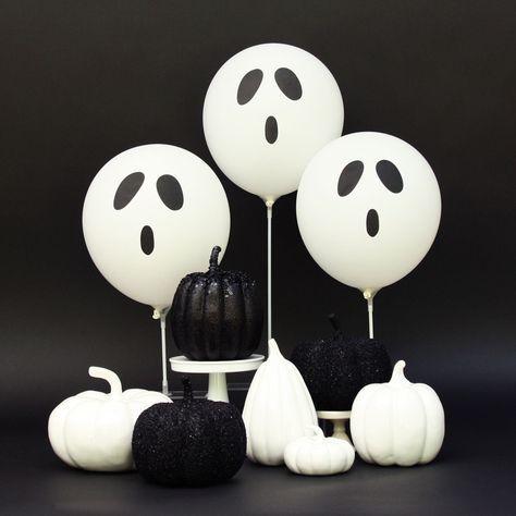 #halloween ghost balloons