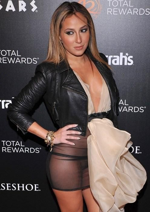 Adrienne Bailon Slip Celebrity Wardrobe Malfunctions Dresses