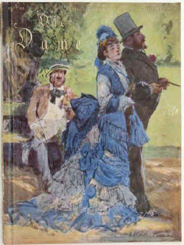 Die Dame. Heft 22. Erstes Maiheft 1927. Jahrgang 54. Verlag Ullstein, Berlin…