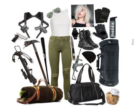 """""""The Walking Dead☠️"""" by magscerasuolo ❤ liked on Polyvore featuring River Island, Current/Elliott, Giuseppe Zanotti, Ultimo, Local Celebrity, Athleta, Movado, Ray-Ban, Piel Leather and FRACOMINA"""