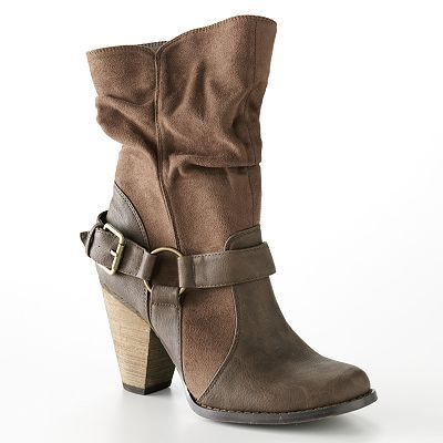 Every girl needs a pair of boots in the Fall! LOVE these from Kohl's!