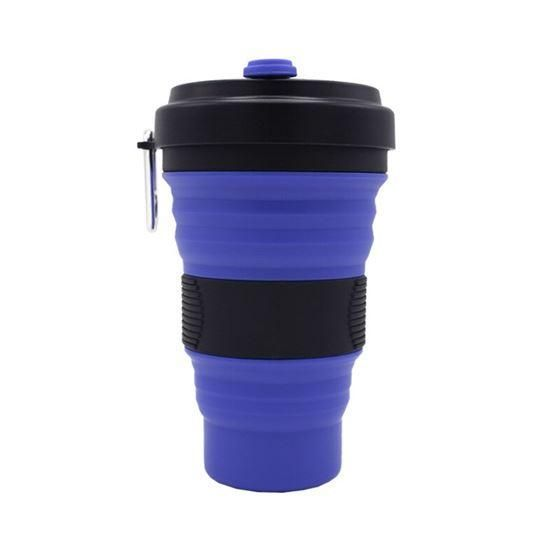 Collapsible Silicone Coffee Cup (550 ml)