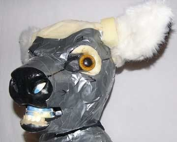 beetlecat: Mini Tutorial #3 - Duct Tape Head Furring I NEED THIS.