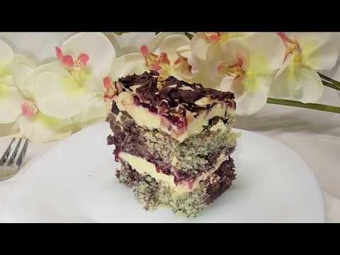 Ciasto Popapraniec Pyszne Z Kokosem Makiem I Kremem Budyniowym Kasia Ze Slaska Gotuje Youtube Food Cake Recipes Mini Cheesecake