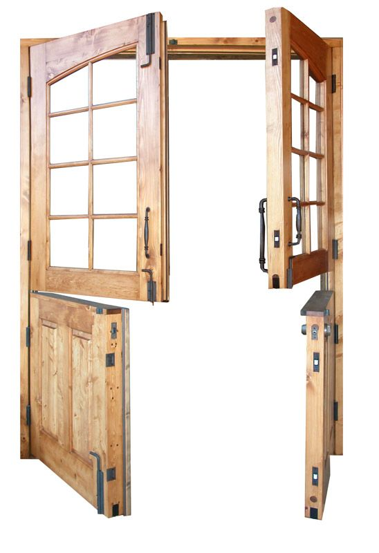 Dutch Doors - Double Dutch French Doors - 3222RP: