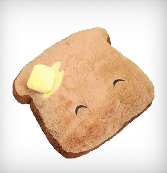 Cuddle Up To A Squishable Comfort Food Toast | Cool Feed.me - Cool Stuff To Buy And Drool Over