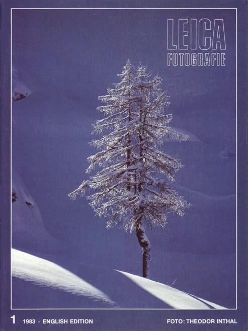 Leica Fotografie Magazine 1 1983 Light Flash Basler Fasnacht Snowflake