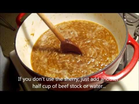 Making French Onion Soup.wmv - YouTube