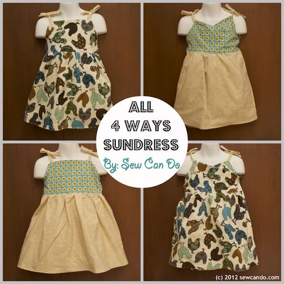Melly Sews: 4 Ways Sundress by Cheryl of Sew Can Do